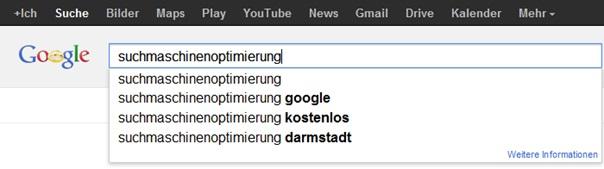 google-suche Keywordoptimierung im SEO – worauf Sie unbedingt achten sollten