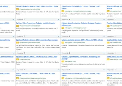 seo-wettbewerbsanalyse-screen-7-400x284 Análisis de la competencia de marketing online.